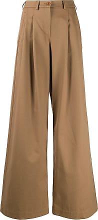 JEJIA Calça pantalona com cintura alta - Neutro