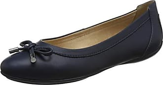 Geox Womens Charlene 27 Ballet Flat, Navy, 39 Medium EU (9 US)