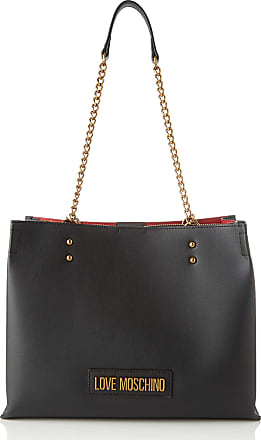 Love Moschino Jc4268pp0a Womens Tote, Black, 15x23x31 Centimeters (W x H x L)