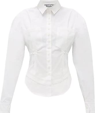 Jacquemus Cueillette Fitted-waist Cotton Shirt - Womens - White