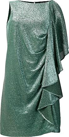 Just Cavalli Vestido de festa com babados - Verde