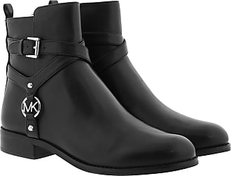 Michael Kors Boots & Booties - Preston Flat Bootie Black - black - Boots & Booties for ladies