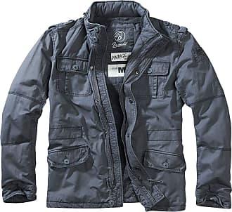 Brandit Mens 9390 Parka Long Sleeve Jacket - Blue - XXX-Large