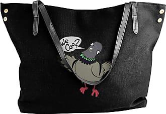Juju Funny We Coo Womens Classic Shoulder Portable Big Tote Handbag Work Canvas Bags