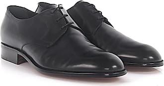 Moreschi Derby Vitello Cuoio leather black