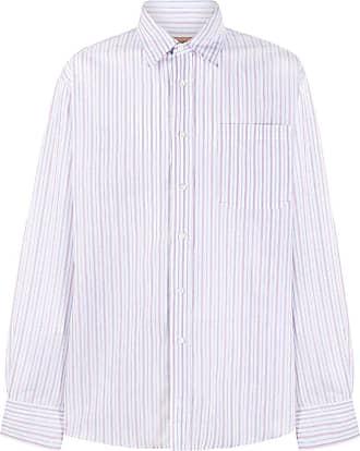 Missoni Camisa mangas longas com listras - Azul