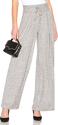 Joie Adhyra Wide Leg Pant in Gray