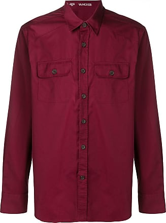 Alessandro Gherardi Camisa com botões - Vermelho