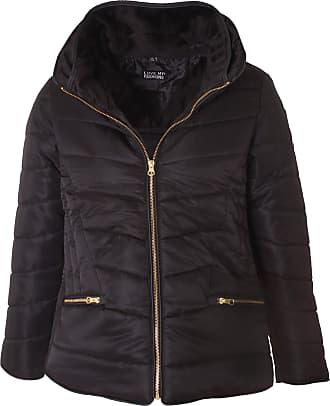 Love my Fashions Haylie Zipped Pocket Padded Jacket Black