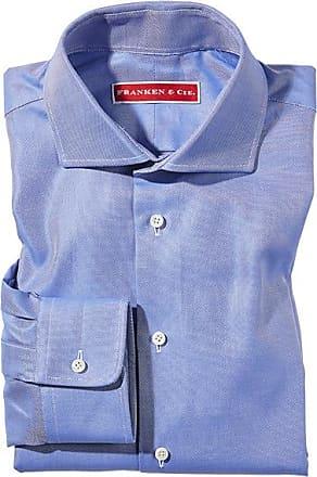 Franken & Cie. Shirt pinpoint, blue