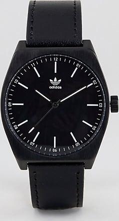 adidas Adidas Z05 Process Leather Watch In Black