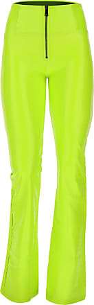 Freddy Lime green crocodile-effect faux leather WR.UP skinny trousers