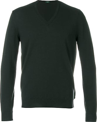 Zanone v-neck jumper - Green