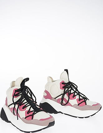 Stella McCartney Faux Leather Printed Sneakers size 35