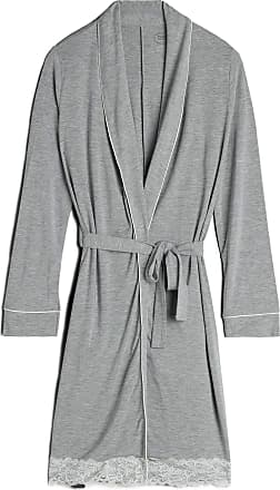intimissimi Womens Modal Robe with Lace Detail