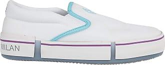 Marcelo Burlon Fashion Man CMIA079R20FAB0010143 White Cotton Slip On Sneakers   Spring Summer 20