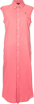 Polo Ralph Lauren sleeveless shirt dress - Pink