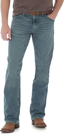 Wrangler Mens 20x Competion Slim Fit Barrel Jean - Blue - 40W x 34L