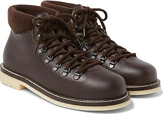 Loro Piana Laax Full-grain Leather Boots - Brown