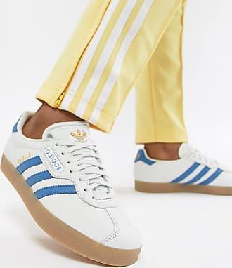 size 40 93a91 6a01d adidas Originals Zapatillas de deporte en blanco y azul Gazelle Super de  adidas Originals