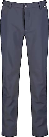 Regatta Great Outdoors Mens Fenton Lightweight Softshell Trousers (40S) (Seal Grey)