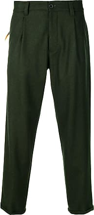 PT01 cropped trousers - Green