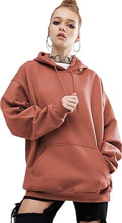 Isshe Pullover Hoodies for Women Womens Hooded Sweatshirt Jumper Womens Sweatshirts for Women Hoodie Plain Loose Casual Oversized Bat Sleeve Sweatshirts Swe
