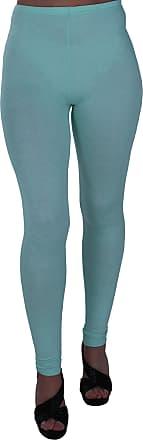 Eyecatch Oversize - Kaira Womens Plus Size Stretch Ladies Trousers Leggings Full Length Pants Mint Green Size 16/18