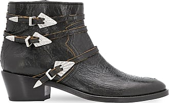 Zadig & Voltaire ankle length buckled boots - Black