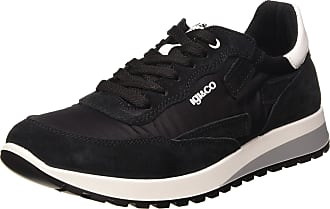 Igi & Co Mens Scarpa Uomo URO 51274 Gymnastics Shoes, Nero Nero 5127400, 6.5 UK