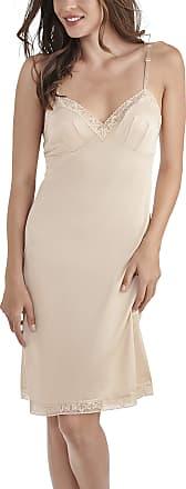 Vanity Fair Womens Rosette Lace Full Slip 10103, Damask Neutral, 34, 22 Inch