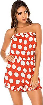 Luli Fama Womens Swimwear, -ole red, XS