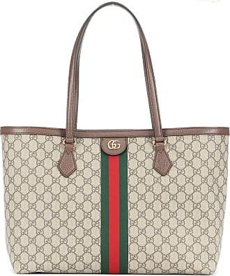 Gucci Shopper Ophidia GG Medium in tessuto e pelle