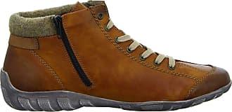 Rieker Womens L6527 Fashion Boot, Brown, 10 UK