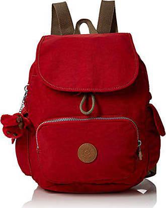 6fc6507fd Kipling City Pack S, Mochila para Mujer, Rojo (True Red C),