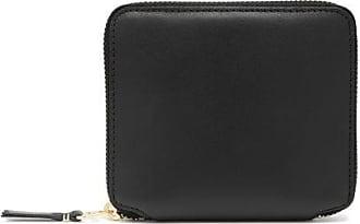 Comme Des Garçons Comme Des Garçons Wallet - Zip-around Leather Wallet - Womens - Black