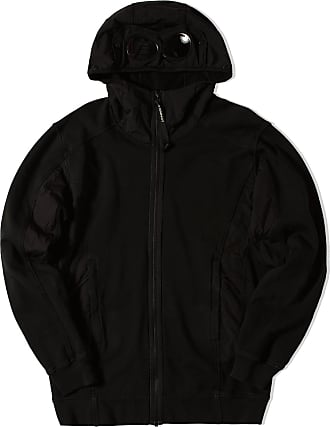 C.P. Company Baumwolle Fleece Brillenhaube Sweat Black - navy | M. - Navy