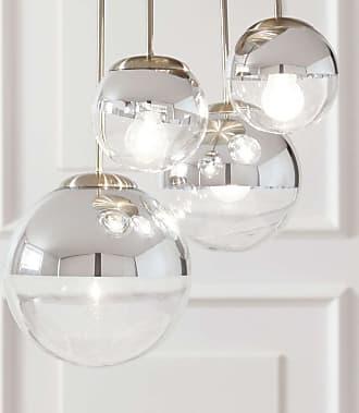 Lindby Lámpara de techo Ravena con esferas, 4 brazos