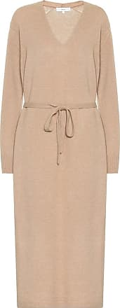 Vince Belted wool-blend dress