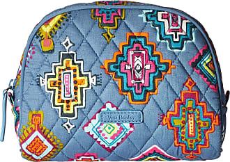Vera Bradley Luggage Womens Medium Zip Cosmetic Painted Medallions Luggage