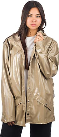 Rains Holographic Jacket holographic beige