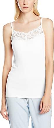 Vila Womens Viofficiel Lace Strap Top-noos Vest, White (Optical Snow Optical Snow), 42 (Manufacturer size: X-Large)