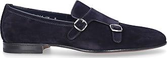 Santoni Flat Shoes Blue 13907