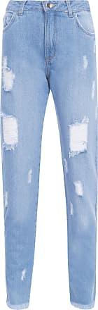 Loft 747 Calça Jeans Destroyed - Azul