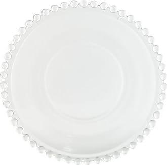 Vestindo a Mesa Prato Sobremesa Cristal Pearl