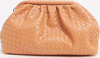 Glamorous Esclusiva Glamorous - Pochette a soffietto morbida intrecciata arancione-Multicolore
