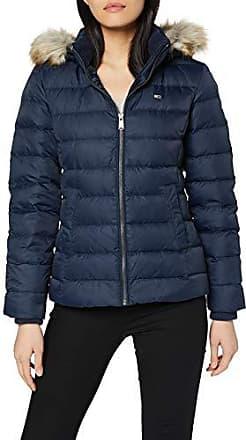 Tjw Essential Hooded Down Jacket Blouson, (Yellow Zbc), Medium Femme