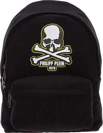 Philipp Plein men Skull backpack black