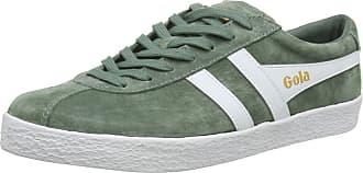 Gola Mens Trainer Suede, Green (Sage/White New), 12 (46 EU)