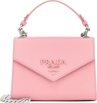Prada Monochrome Small leather crossbody bag